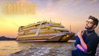 My First time in 5 Star LUXURY CRUISE of India | Nightlife of Goa | Unlimited food & Drink