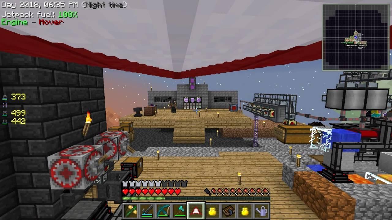 Minecraft - Sky Factory #45: Coke Factory