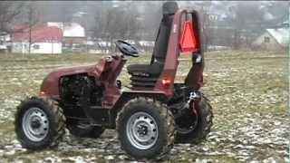 malotraktor domácej výroby JMC 4x4