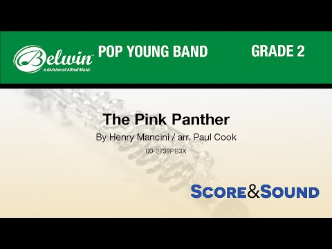 The Pink Panther, arr. Paul Cook - Score & Sound