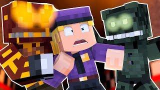 Grim Foxy And Dreadbear Attack! | Minecraft FNAF Roleplay