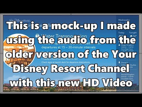 Your Disney Resort | Polynesian Resort | Older Audio Mock-up Version | WDW Resort TV