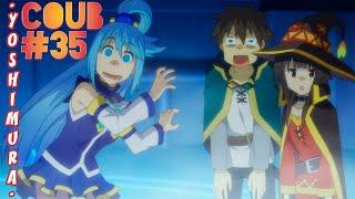 Аниме приколы | Смешные Моменты Из Аниме | Anime COUB | Yoshimura #35