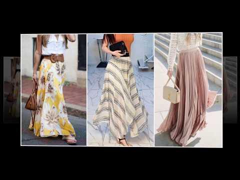 Вопрос: Как сшить юбку макси длины?