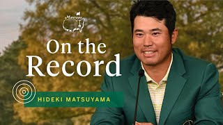 Masters Champion Hideki Matsuyama Addresses The Media | The Masters
