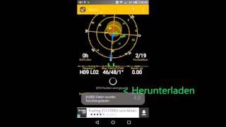 GPS und Kompass auf Android kalibrieren
