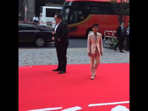 Neel Sethi  Japan premiere of The Jungle Book