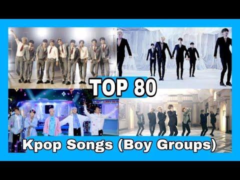 [TOP 80] My Favorite Kpop Songs (Boy Groups) ☆Top Kpop☆