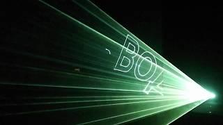 Лазерное шоу - презентация игровых компьютеров IMPRESSION