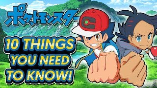 NEW Pokémon Anime (2019) - 10 THINGS YOU NEED TO KNOW!