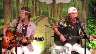 """Florida Georgia Line """"Cruise"""" acoustic from the 2016 Dig Your Roots VIP Party at The BB&T Pavilion"""