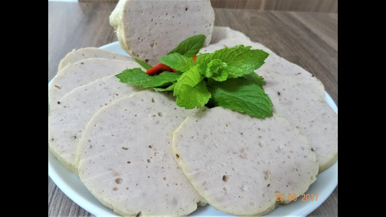 CHẢ LỤA / GIÒ LỤA – Bí quyết để xay Thịt làm Chả Lụa dai giòn tại nhà by Vanh Khuyen