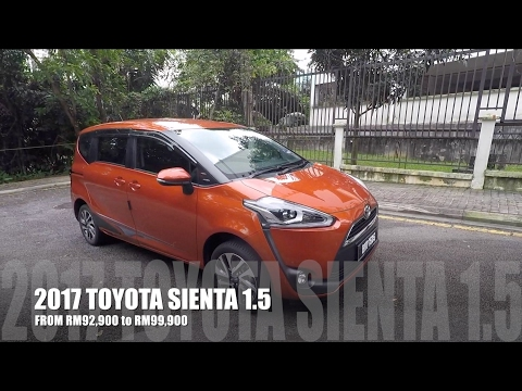 2017 Toyota Sienta Full In Depth Review Malaysia