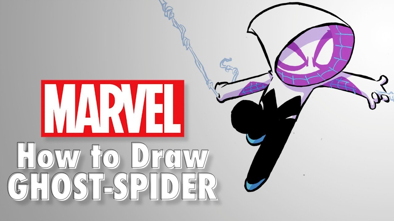 How to Draw Ghost-Spider LIVE w/ Skottie Young! | Marvel Comics