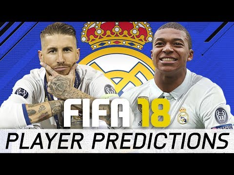 FIFA 18 Real Madrid Player Ratings Predictions - Mbappe Ready for Real?
