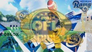 [OFL] Ciotola di vittoria 11 Milikan Rams V PANthers ROBLOX