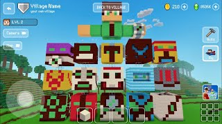 Block Craft 3D: Building Simulator Games For Free Gameplay #1294 (iOS & Android)   Tribute to Ben 10