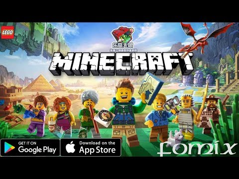 Lego - Minecraft на телефон от Tencent (Lego Cube) (Android Ios)