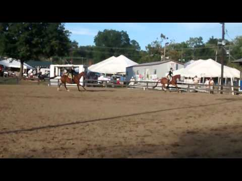 Stephanie Guerlain & Liz Uffelman, Hunt Pairs, Warrenton 2015
