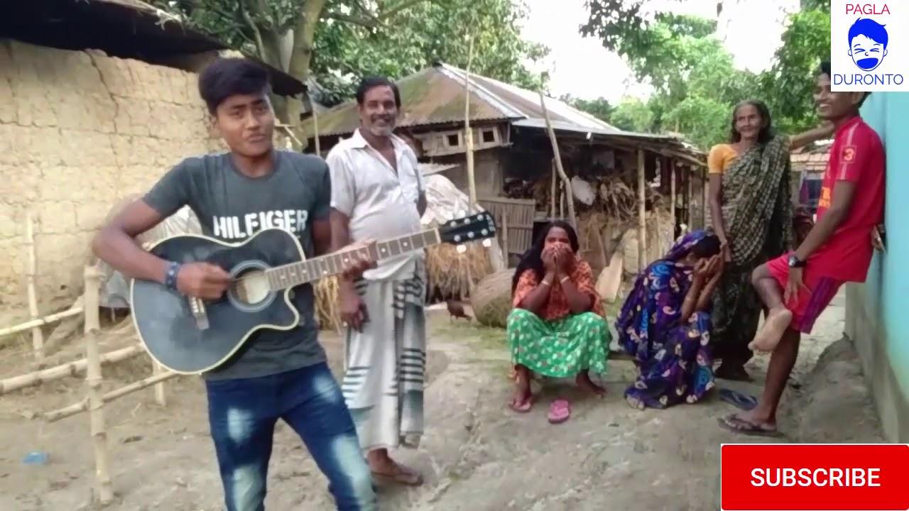 Bangladeshi-village boy-FUNNY RAB song english funny song - YouTube-new  video