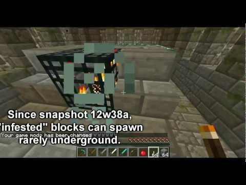 Minecraft Mob Guide - Silverfish
