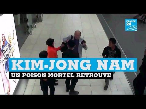 Un poison mortel retrouvé sur Kim Jong Nam