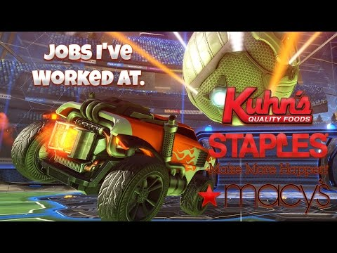 Jobs I've Worked At (Kuhn's, Staples, Macy's)   SCATTERBRAIN