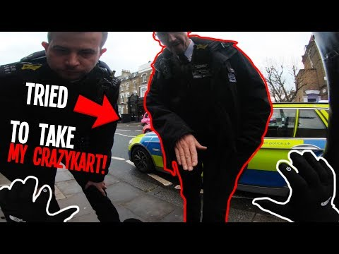 *ILLEGAL* POLICE TRIED TO RUN ME OFF THE ROAD!