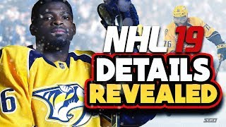 NHL 19 FIRST DETAILS!! Cover Athlete Announced!