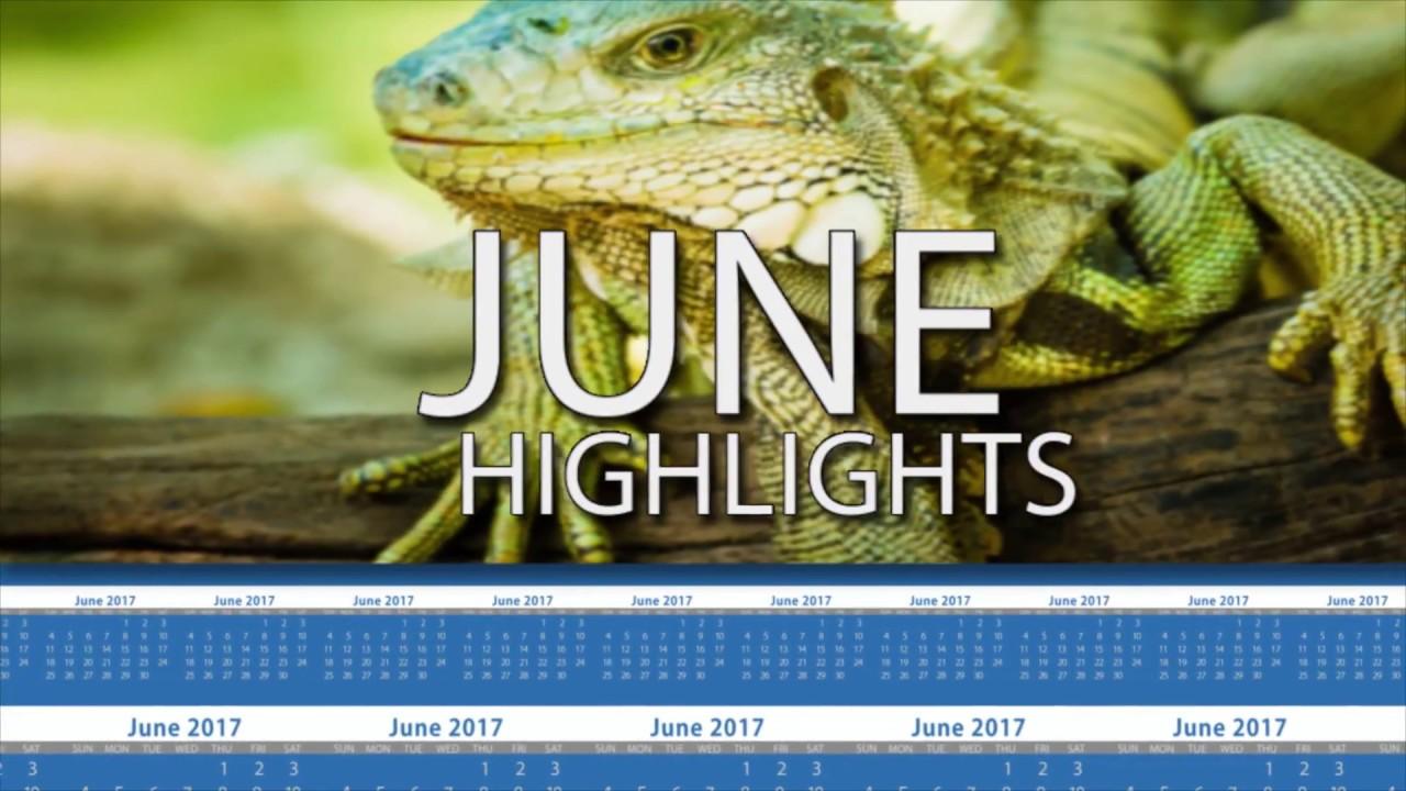 June 2017 Calendar of Events
