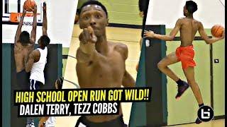 This High School Open Run GOT CRAZY!! Dalen Terry, Tezz Cobbs SHOW OUT!