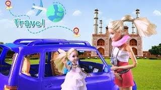 Barbie camper   Barbie travels to India   barbie travel