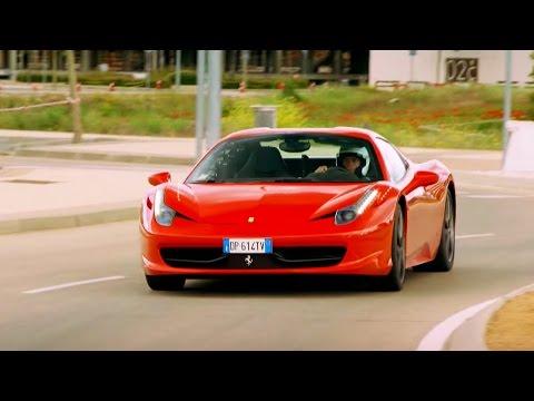 Supercar Street Race - The 'Madrid Grand Prix' - Top Gear - The Stig - BBC