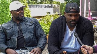 Dereck Chisora - Povetkin will be the HARDEST FIGHT EVER for AJ