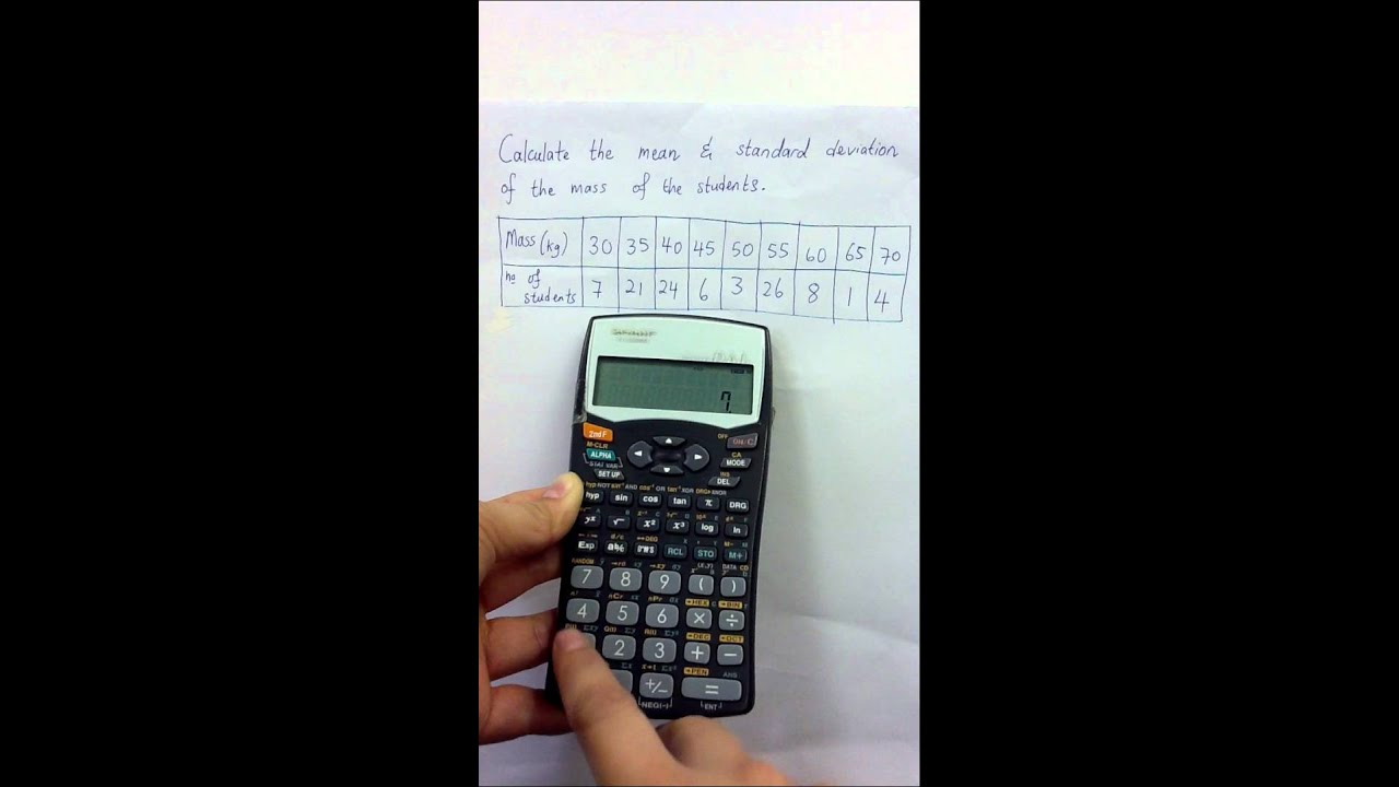 standard deviation calculator Standard deviation is a statistical term that measures the amount of variability or dispersion around an average standard deviation is also a measure of volatility.