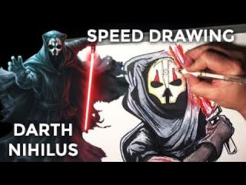 Darth Nihilus Speed Drawing