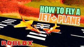 Wie man den neuen PLANE und JET in Jailbreak fliegt! Roblox