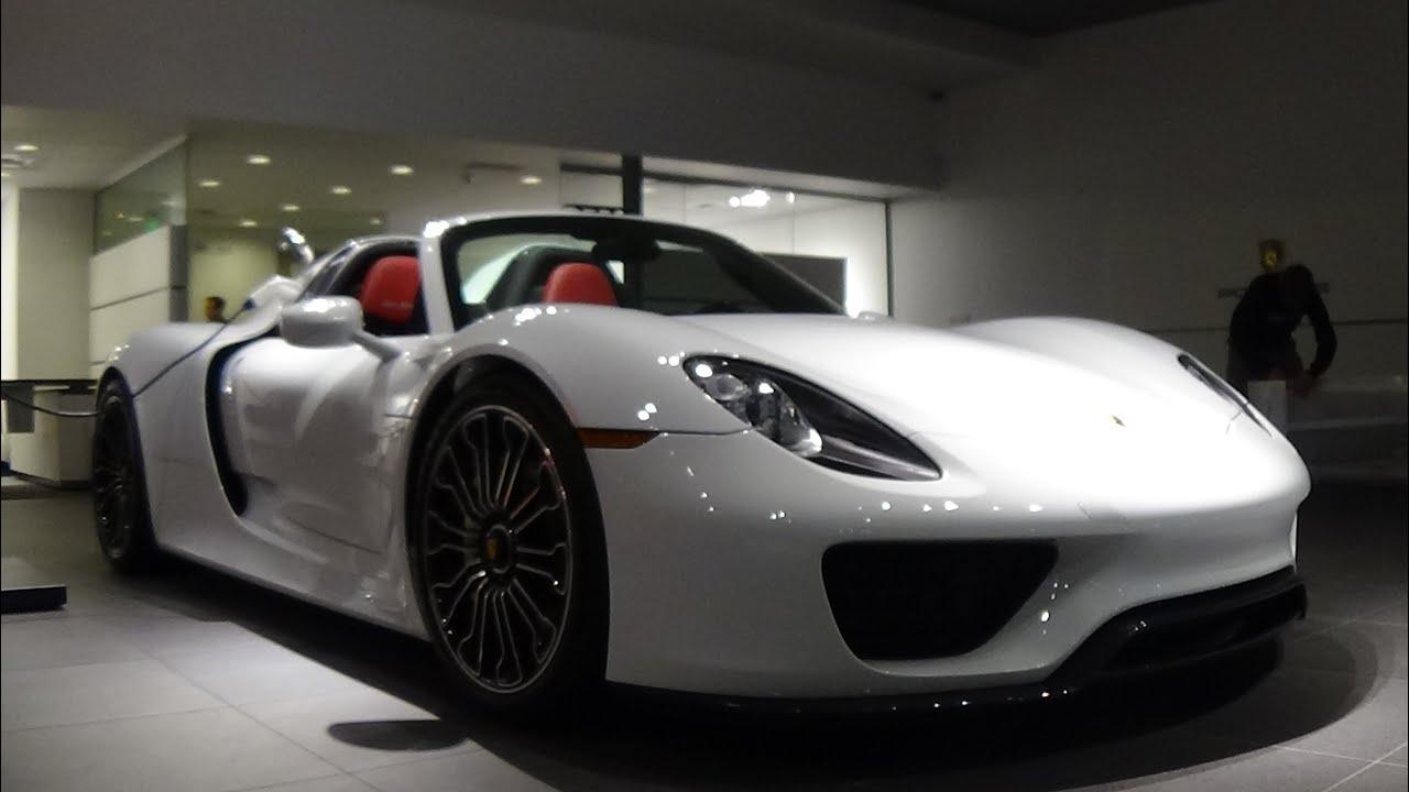 Porsche 918 Spyder And Porsche 911 Gt3 Rs Porsche