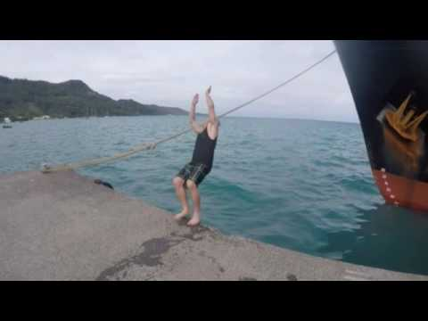 Trip to Pitcairn island