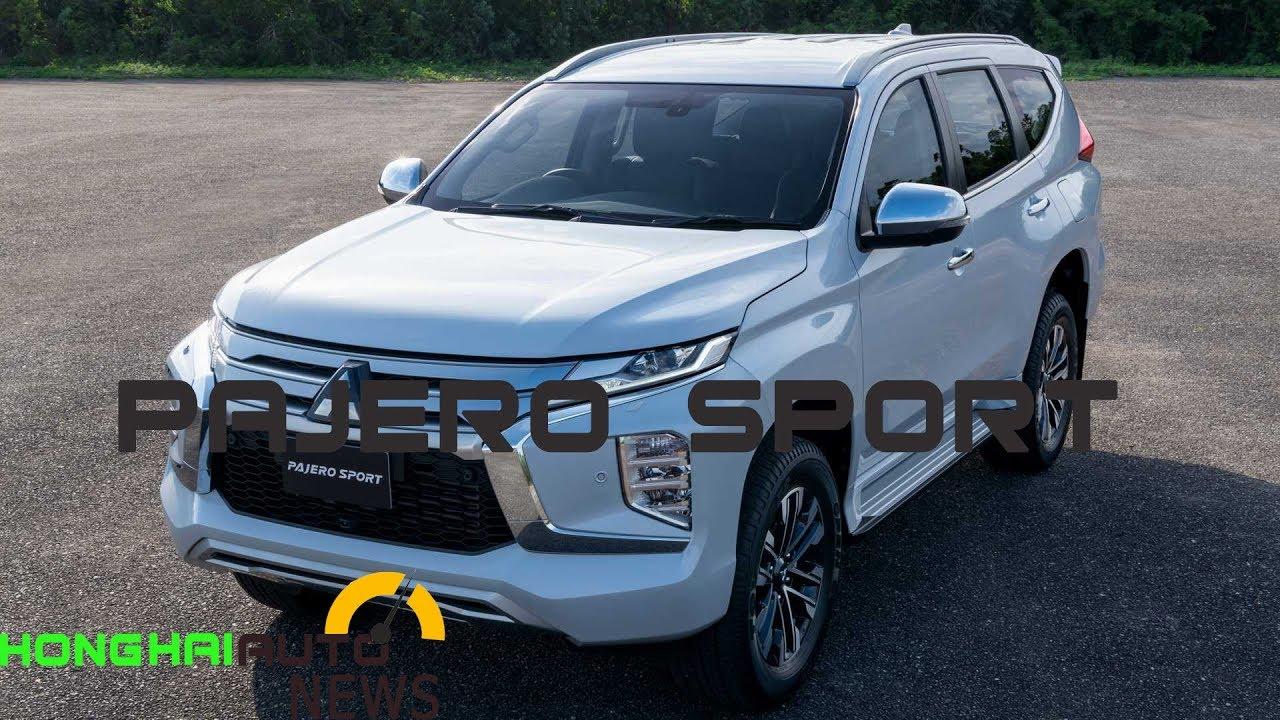 Pajero sport 2020 bản facelift lộ diện   Giá Khuyến mãi mitsubishi tháng 8/2019
