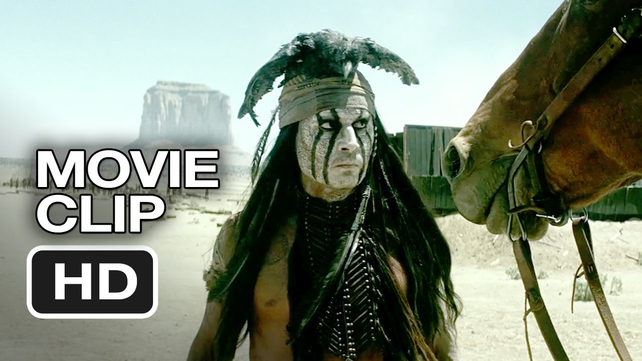 Download The Lone Ranger Movie CLIP - Arresting Tonto (2013) - Johnny Depp, Armie Hammer Western HD