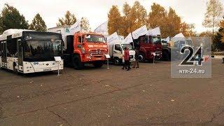 В Нижнекамске прошла выставка брендовых автомобилей «Сделано в Татарстане»
