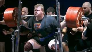 475 kg / 1047 lb - IPF World Record Squat - Carl Yngvar Christensen