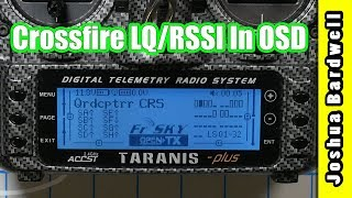 How To Set Up Crossfire LQ and RSSI in OSD