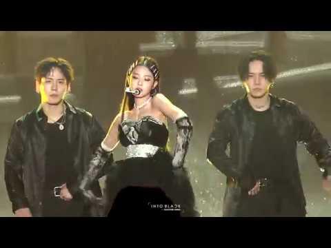181225 블랙핑크 BLACKPINK 제니 Jennie @ SBS 가요대전 By Into Black