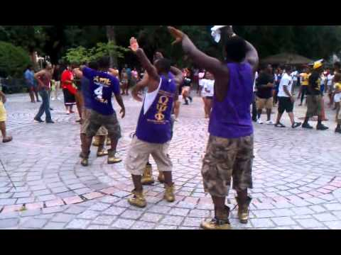 ADL Bruhz settin it OWT at the New Orleans Greek Picnic