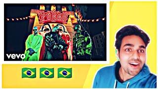 Indian reaction on DJ Snake, Sean Paul, Anitta - Fuego ft. Tainy
