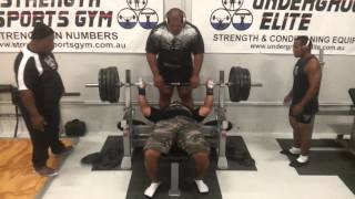 Strength Sports Gym - Nauru Powerlifting IPF Worlds Team - Second Session