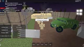Life as a Off Duty United States Troop in Kalingrad (Roblox)