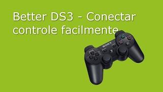 Better DS3 - Conectar controle facilmente - Genérico, PS3